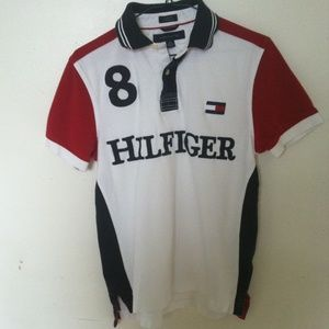 TOMMY HILFIGER Men's Small Polo Shirt
